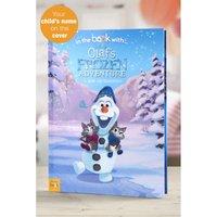 'Personalised Disney Olafs Frozen Adventure - Hardback Book