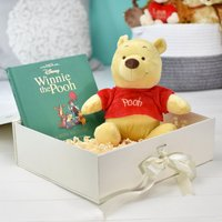 Personalised Disney Winnie-the-Pooh Plush Toy Giftset
