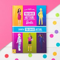 Personalised You Can Be Anything Barbie - Hardback