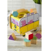 Personalised Peppa Pig Shape Sorter Camper