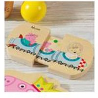 Personalised Peppa Pig Pull and Play