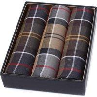3 Pack Tartan Cotton Pocket Squares