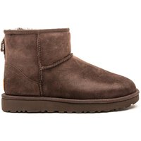 Women's Classic Mini II Sheepskin Boots - Chocolate