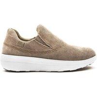 Brown Fitflop Loaff Sporty Slip On Sneaker