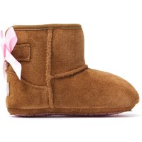 Infant Iche Jesse Bow II Boots - Chestnut Suede