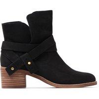 Women's Elora Ankle Boots - Black Nubuck