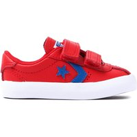 Infants Breakpoint 2V Leather Trainers - Casino Red