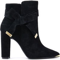 Women's Sailly Ankle Boots - Black Suede