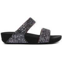 Women's Glitterball Slide Sandals - Pewter