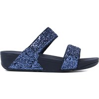 Women's Glitterball Slide Sandals - Midnight Night