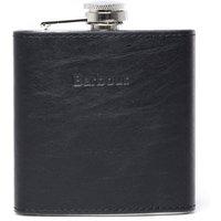 6oz Leather Hip Flask - Black