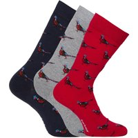 3 Pack Pheasant Socks Giftbox
