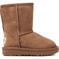 Infant Classic Short II Sheepskin Boots - Chestnut