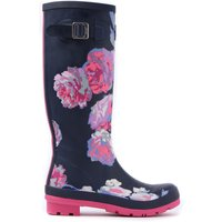 Blue Joules Printfnb Welly Print  French Navy Beau
