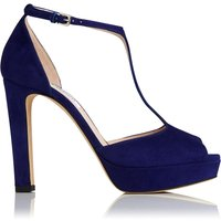 Baileigh Ultra Violet Suede Sandals