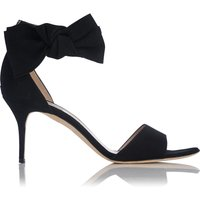 Agata Suede Bow Sandals