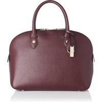 Camilla Oxblood Leather Tote Bag