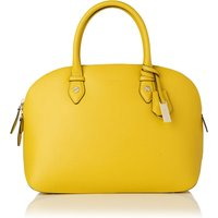 Camilla Yellow Leather Tote Bag
