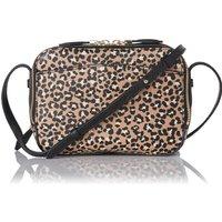 Mariel Animal Print Leather Shoulder Bag
