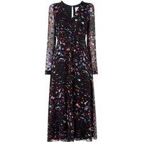 Ally Print Viscose Dress