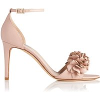 Claudie Pink Leather Formal Sandals