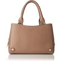 Izzy Brown Grained Leather Tote Bag