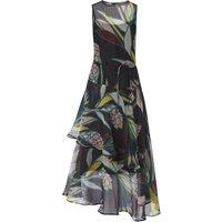 Kalia Black Silk Dress