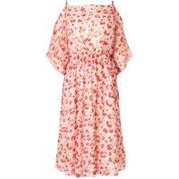 Marnie Red Silk Printed Dress