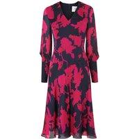 Mina Rosehip Silk Dress
