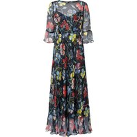 Phia Navy Silk Dress