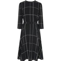 Dinah Black Check Dress