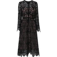 Elouise Black Lace Dress