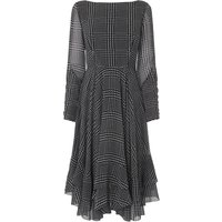 Manon Check Woven Dress