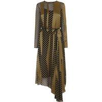 Nichol Gold Silk Dress
