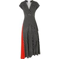Shelly Black Print Dress