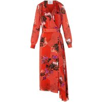 Vali Rose Silk Dress