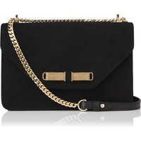 Karla Black Suede Shoulder Bag