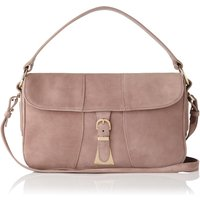Scarlett Pink Suede Shoulder Bag