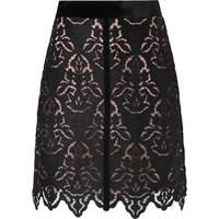 Elouise Black Lace Skirt