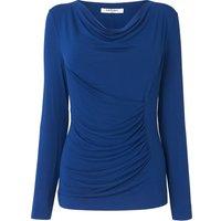 Aramina Blue Jersey Top