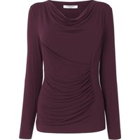 Aramina Purple Jersey Top