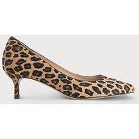 Audrey Leopard Print Calf Hair Courts, Leopard print