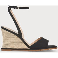 Talitha Black Suede Sandals