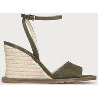 Talitha Khaki Suede Sandals