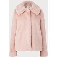 Ivone Pink Coat, Pink