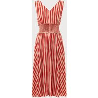 Ambery Poppy Silk Dress