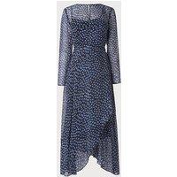 Beya Navy Dress, Navy Multi
