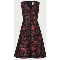 Delysia Floral Dress, Black Multi