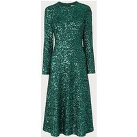 Lazia Green Sequin Dress, Green