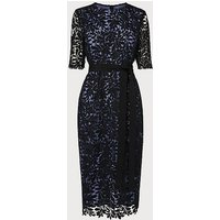Leigh Blue Black Dress, Blue Black
